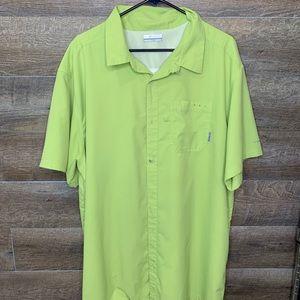 Columbia ShortSleeve fishing shirt